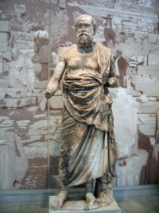 Statue of a Philosopher, circa 280 BC ©2009 Charlene Nevill