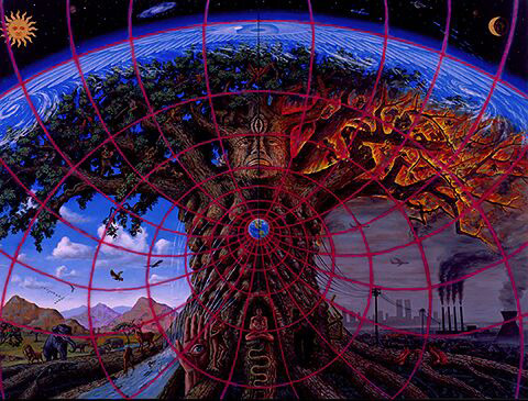 Gaia by Alex Grey, 1989, alexgrey.com