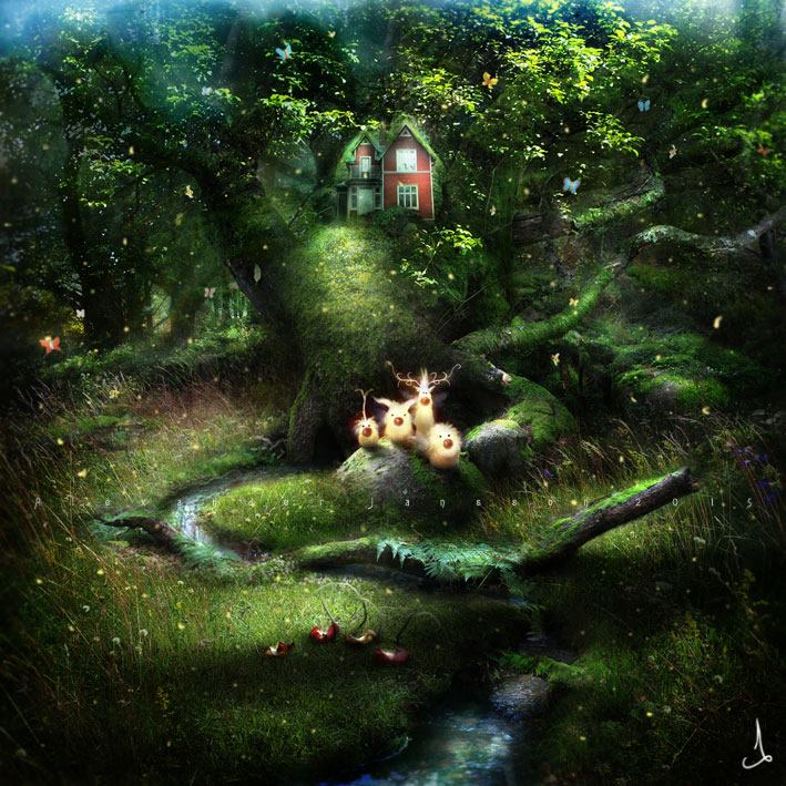 Summer Newlings © Alexander Jansson